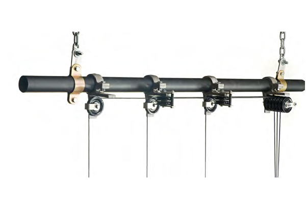 Curtain Track Systems Tru Roll